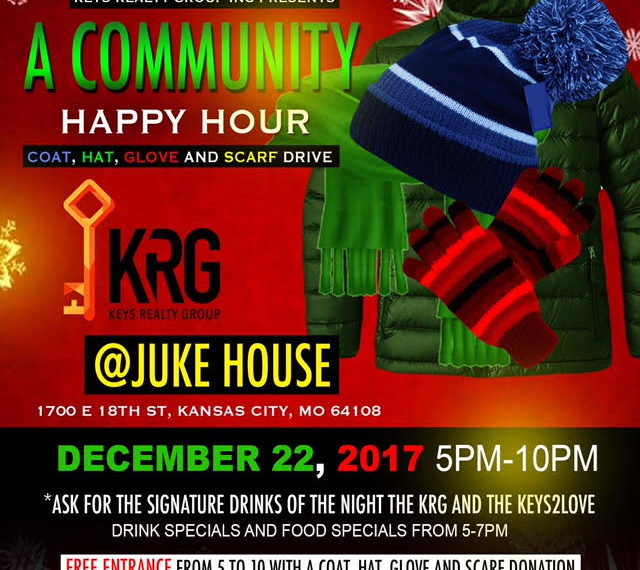 Invitation to KRG's 2017 Community Happy Hour at the Juke House in Kansas City